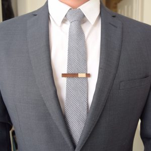 Tie Clip Style and Panache