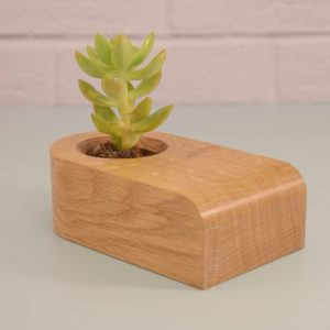 Oak Planter Style and Panache